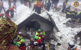 Трагедія з готелем під снігом в Італії: з'явилися нові подробиці і фото