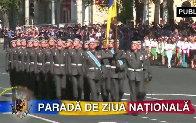 Українські військові на параді в Молдові надихнули соцмережі