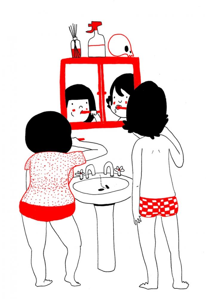 Как прекрасно быть вместе: веселые комиксы о семейной жизни (3)