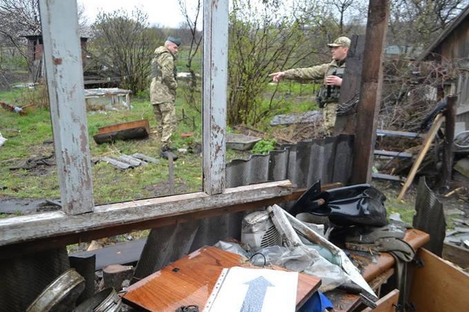 Нічний обстріл Авдіївки: з'явилися фото наслідків (1)