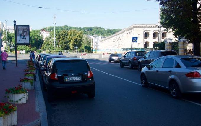 На Подоле в Киеве создали экспериментальную пешеходную зону: появились фото (3)