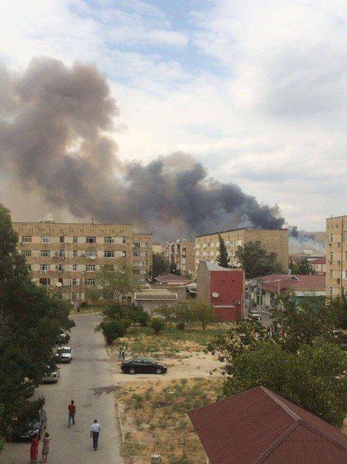 На військовому заводі в Азербайджані стався вибух: з'явилися фото і відео (1)