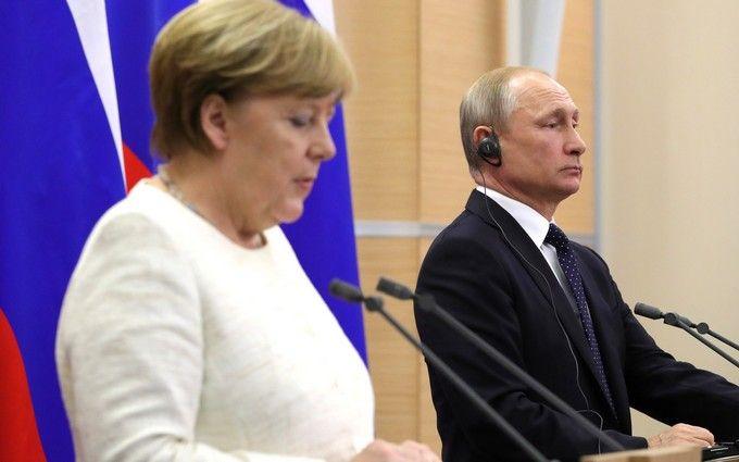 Переговори Меркель і Путіна: стало відомо про план щодо введення миротворців на Донбас