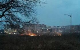 Під Києвом знову загорілося торфовище: опубліковані фото