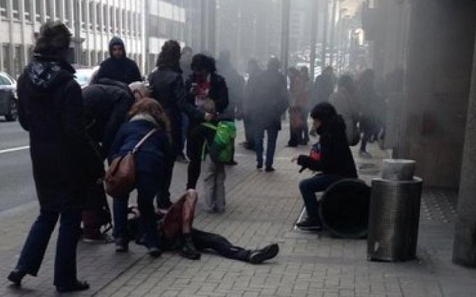 В метро Брюсселя произошел взрыв: опубликовано видео