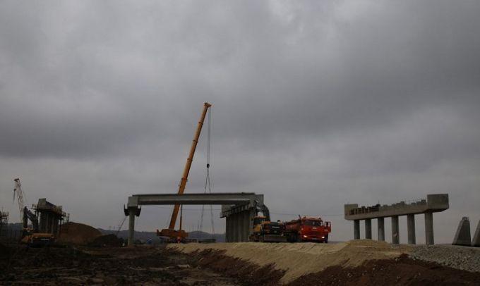 Окупанти завершили черговий етап будівництва Кримського моста: нові фото