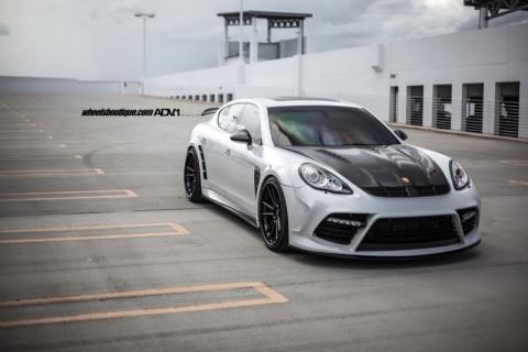 Porsche Panamera від Mansory на дисках ADV.1 Wheels (12 фото) (1)