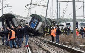 В Италии произошла железнодорожная катастрофа, есть жертвы