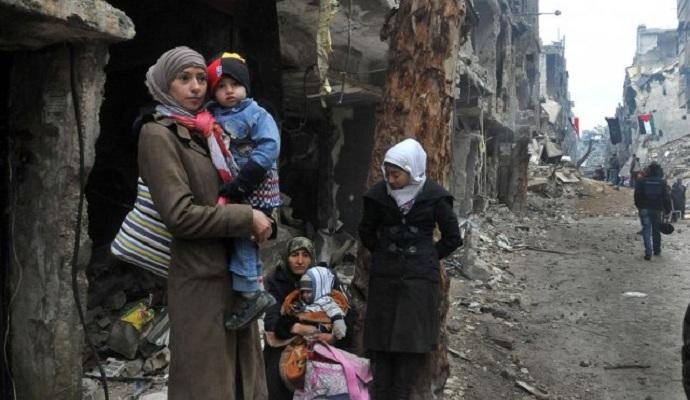 В окруженном войсками Асада сирийском городе начался голод