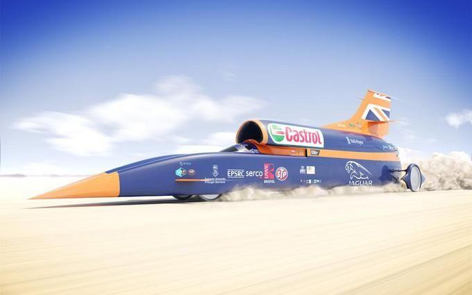 У Британії випробували найшвидший автомобіль: опубліковано відео