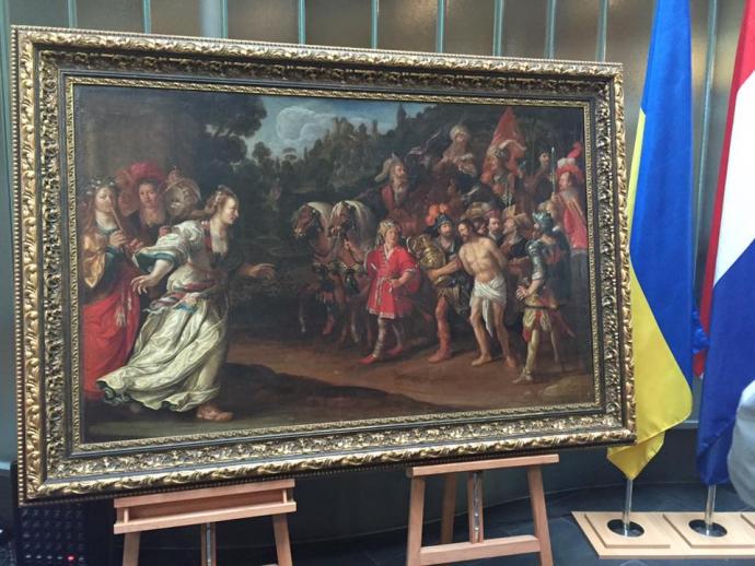 Завершилася детективна історія з голландськими картинами в Україні: з'явилися фото (1)