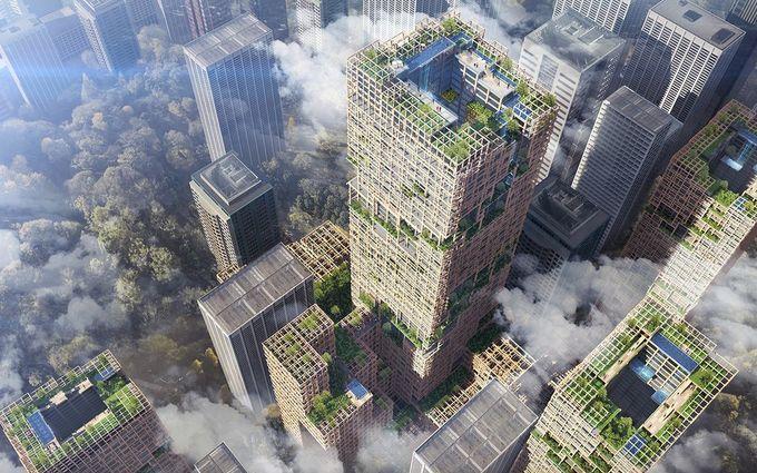 У Токіо побудують найвищий дерев'яний хмарочос: з'явилися фото