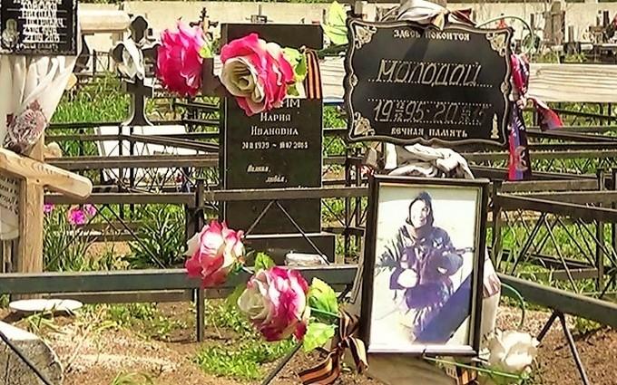 Тут спочиває Молодий: в мережі з'явилися нові фото з кладовища бойовиків в Донецьку