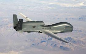 Стратегический американский беспилотник провел разведку над Донбассом