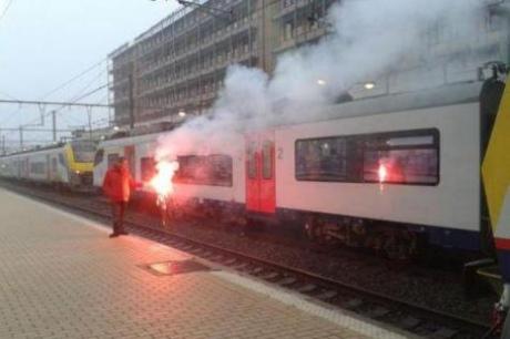 У Бельгії проходить масштабний протест залізничників