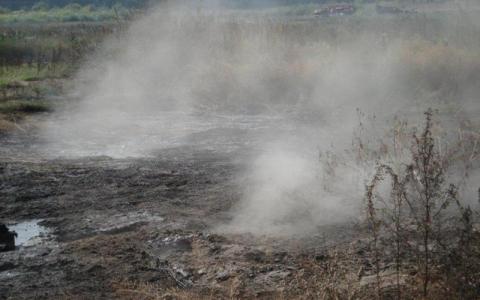 При гасінні торфовищ під Києвом вибухнули боєприпаси часів Другої світової