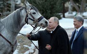 Живой подарок для Путина в Кыргызстане вызвал шквал насмешек в сети: появились фото