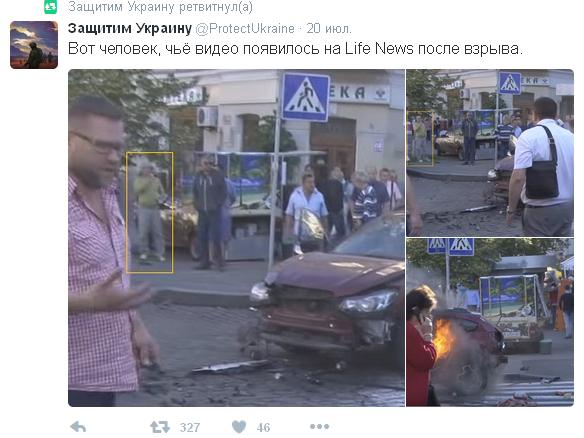 Вбивство Шеремета: соцмережі обурили пропагандисти Путіна на місці трагедії (1)