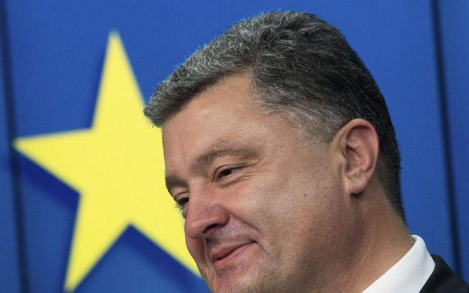 Порошенко повідомив радісну новину щодо безвіза для України