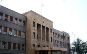 В парламенте Македонии нашли взрывчатку