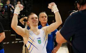 """Украинский гимнаст Верняев выиграл """"золото"""" на чемпионате Европы"""