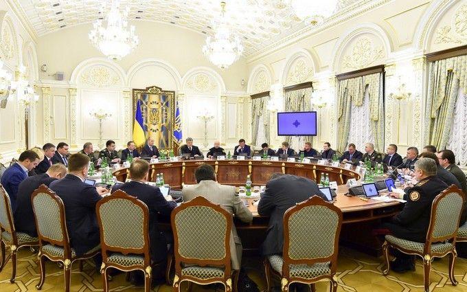 СНБО принял резонансное решение насчет Донбасса