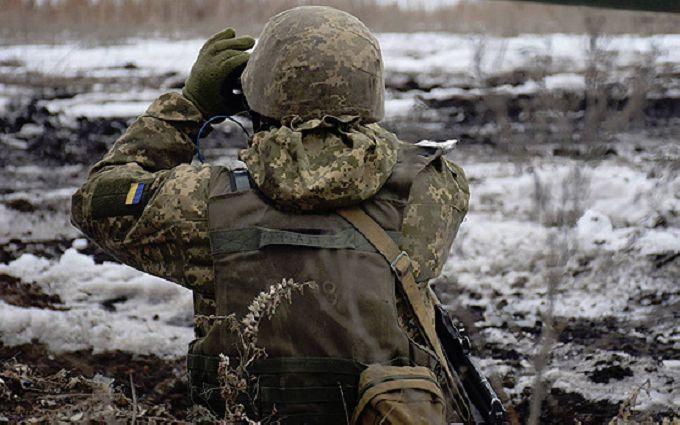 На Донбассе украинские воины уничтожили боевую машину пехоты оккупантов