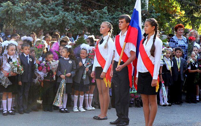 У Росії школярів змусили вивчати шансон: з'явилася смішна картинка