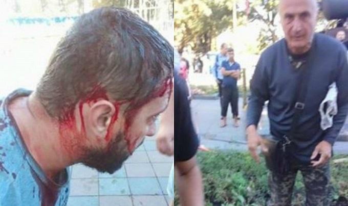 В Одесі з бійками знесли намети противників мера: опубліковані фото (1)