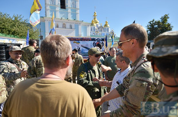 Панахида за загиблими під Іловайськом пройшла в Києві: з'явилися фото (1)
