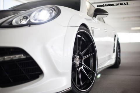 Porsche Panamera від Mansory на дисках ADV.1 Wheels (12 фото) (7)
