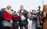 Активисты в Киеве запустили процедуру отзыва Кличко с поста мэра