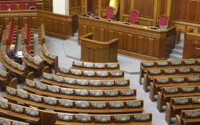 Депутаты продолжают массово прогуливать заседания ВР