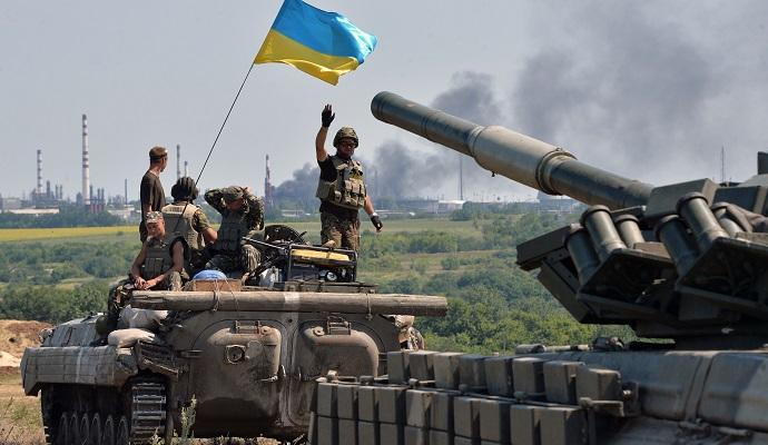 В зоне АТО не прекращают обстреливать опорные пункты ВС Украины