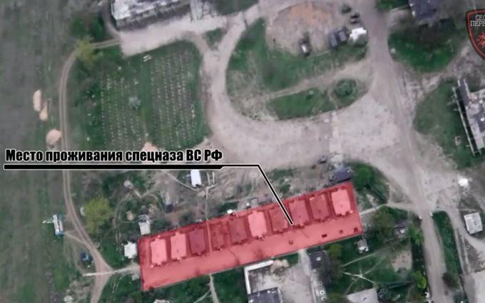 Бойову техніку окупантів в Криму зняли на відео з повітря