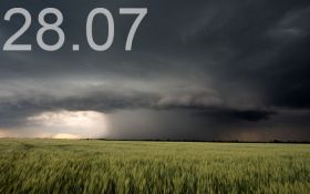 Прогноз погоды в Украине на 28 июля