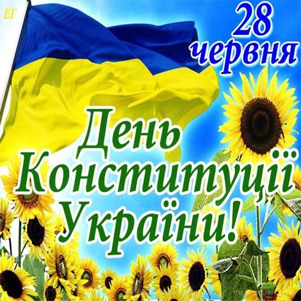 День Конституции Украины 2019: подборка поздравлений в стихах и прозе, открытки и картинки (1)