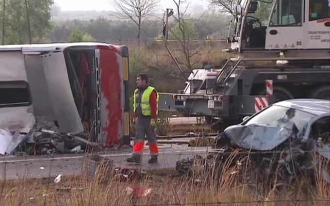 МИД рассказал об украинцах, пострадавших в аварии с автобусом в Испании