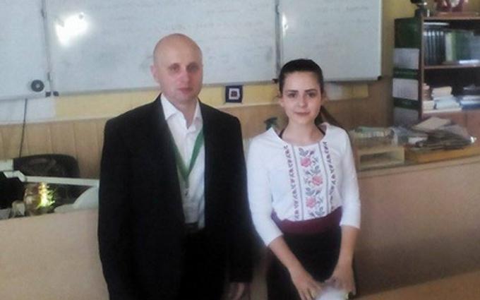 Школярка з Донбасу здивувала голанців технічним проектом: опубліковані фото