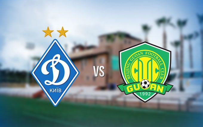 Онлайн видеотрансляция матча «Динамо»— «Бейджин Гоань»
