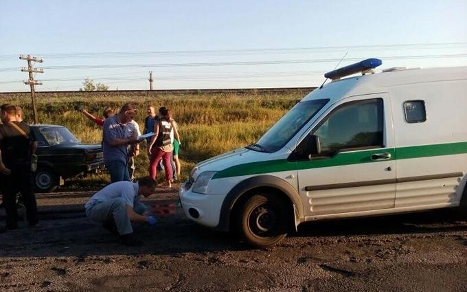 Розстріл машини інкасаторів: з'явилося відео з місця подій