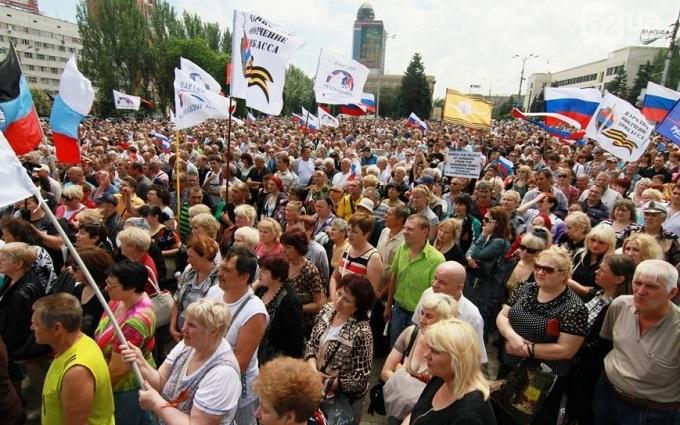 Очевидець розповів, як в Донецьку чекали вторгнення військ Путіна