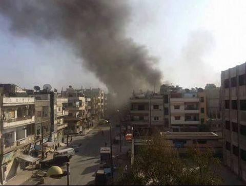 В Сирии произошел взрыв, десятки погибших: фото с места событий (1)