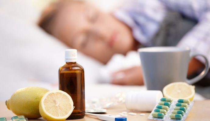 За сутки с гриппом госпитализировали почти 3,5 тыс людей
