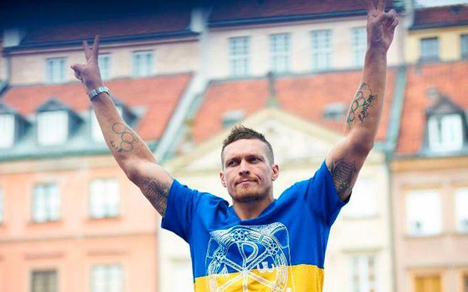 Усик програв чемпіону світу 250 грам: опубліковано відео