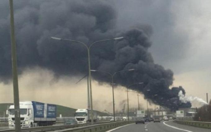 В бельгийском порту прозвучал мощный взрыв