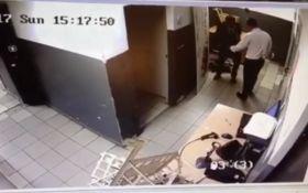 Стрельба в супермаркете Киева: появилось видео