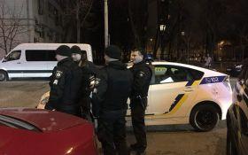 В центре Киева произошла стрельба, есть пострадавший: опубликованы фото