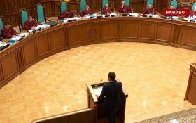Розпуск Ради: Зеленський неочікувано покинув залу засідання Конституційного суду