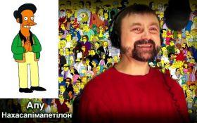 """Украинский """"голос"""" Симпсонов стремится сымитировать голоса диктаторов ХХ века"""
